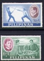 Echecs Serie Neuve  Philippines 1962 Y:557/558 Cote/value:4€ Chess Series MNH - Echecs