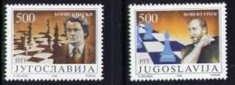 Echecs Serie Neuve Yougoslavie 1992 Y:2425/26 Cote/value:7€ Chess Series MNH Yugoslavia - Echecs