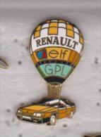 Pin's  RENAULT   MONGOLFIERE - Renault