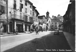 Millesimo - SV - Piazza Italia E Vecchio Castello - Savona
