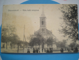 Dunaszekcső, 1936. Church ,  , Hungary - Hungary