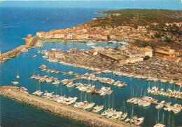 3 CPSM      Saint Tropez  Vue Aérienne Du Port , Vue Générale Du Port       P  2273 - Saint-Tropez