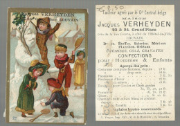 """** - """"""""Maison  JACQUES  VERHEYDEN  """"""""- CONFECTIONS Pour Hommes & Enfants. - Advertising"""