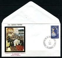 VATICANO - FDC - Viaggio Del PAPA In Francia - Year 1980 - Visita A Lisieux. - FDC