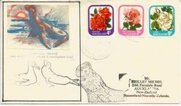 Belle Lettre De L´île Campbell ( île Sub-antarctique De La Nouvelle-Zélande) Adressée à Auckland. Eléphant De Mer - Lettres & Documents