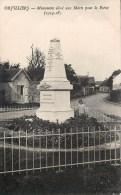 ORVILLIERS MONUMENT AUX MORTS GUERRE 78 YVELINES - Montigny Le Bretonneux