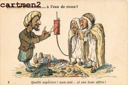 ILLUSTRATEUR ORIENTAL CHAGNY CHIBOUK A L'EAU DE ROSES CARICATURE ARABE HUMOUR MAGHREB ALGERIE MAROC - Illustratori & Fotografie