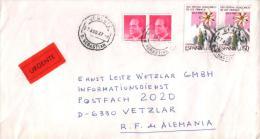 Spanien / Spain - Umschlag Echt Gelaufen / Cover Used (t315) - 1981-90 Cartas