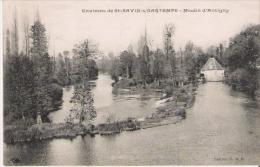 MOULIN D'ANTIGNY  ENVIRONS DE ST SAVIN S/GARTEMPE 1906 - Autres Communes