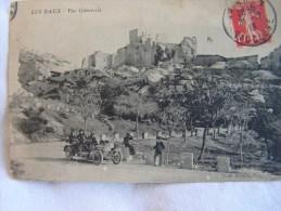 """A SASIR BELLE CARTE """" LES BAUX -vue Generale  """" ANIMEE Automobile  A VOIR - Les-Baux-de-Provence"""