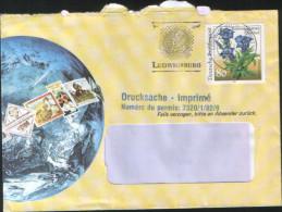 Germania Deutschland Allemagne Germany 1991 Busta Con Fiori 80 Pf  Yv 1339 - Storia Postale