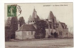 Cpa  Javarzay  Le Chateau - France