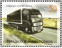 2014 TRANSPORT, TRUCK, SWEDEN, VOLVO - Macédoine