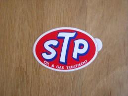 STP Oil & Gas Treatment   Publicité  Autocollant Sticker Autres Collections - Stickers