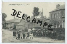 CPA - Beaucamps Le Jeune - L'Ecole - Francia