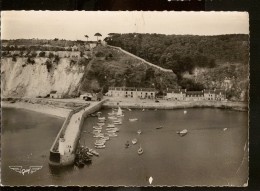 CPSM 22 ERQUY Le Port Vue Du Ciel - Erquy