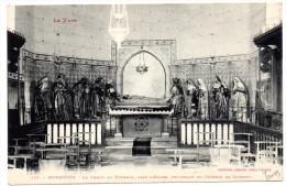 CP, 81, MONESTIES, Le Christ Au Tombeau, Dans L'Eglise, Provenant Du Château De Combero, Vierge - Monesties