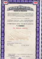 ERCOLE MARELLI-CERTIFICATO MONINATIVO DA MILLE AZIONI-28-4-1975 - Industrie
