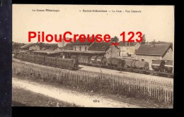 """23 Creuse - ST SAINT SEBASTIEN - """" La Gare - Vue Générale """" - Autres Communes"""