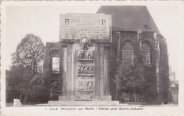 LILLE (59) - Monument Aux Morts - Lille