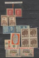 O) 1940 CARIBE, ERRORS REPUBLIC, THE MANGOS BARAGUA-TREE, NICOLAS GUTIERREZ-MEDICAL HABANERO, SCIENTIFIC SEMINAR SP - Imperforates, Proofs & Errors