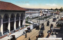 Greetings From JAMAICA, King Street Looking North Kingston, 1915? - Jamaica