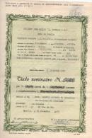 """SOCIETA' PER AZIONI """"L.BONESIO""""-MILLE AZIONI-BIELLA-15-12-1953 - A - C"""