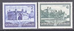 Germany Occupation Poland N 74-5  * - Occupation 1938-45