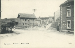Sprimont - La Gare - Fond-Leval ( voir verso )