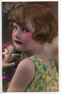 """JOLIE PETITE FILLE """"RICHE """" - Réf. N°6293 - - Portraits"""