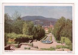 CP 10*15/MM852/BADEN BADEN  PARADIES - Baden-Baden