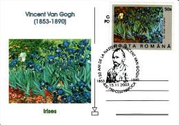 Art - Vincent Van Gogh Irises Card 101 - Paintings