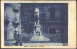 ITALIA - LICATA - MONUMENTO CADUTI - 1928 - Agrigento