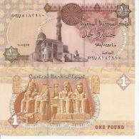 Egypt 1 Pound 2005 Pick 50 UNC - Egipto