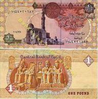Egypt 1 Pound 2006 Pick 50 UNC - Egipto