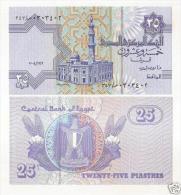 Egypt 25 Piastres 2004 Pick 57 UNC - Egipto