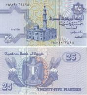 Egypt 25 Piastres 2005 Pick 57 UNC - Egipto