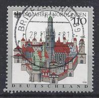 Germany 1998   1100 Jahre Nordlingen  (o) Mi.1965 II - [7] Federal Republic