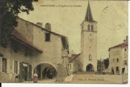 CPA  ARINTHOD L'église Et Les Arcades  10175 - Autres Communes