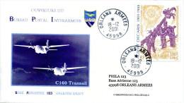 Cachet à Date Avec étoile à La Place De L'heure - Orléans Armées - 18/12/2001 Ouverture Du BPI - R 1174 - Postmark Collection (Covers)