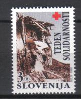 W691 - SLOVENIA , Beneficenza Serie Unificato N. 2 ***  MNH . Croce Rossa - Slovénie