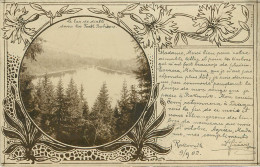 Tchequie : Le Lac De Diable Dans La Fôret Boheme Voyagée En 1902 - Czech Republic