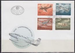 Yugoslavia, 1978, Aeronautical Day, FDC - FDC