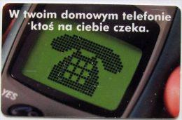 Poland (chip) - 25 U - 2001 - PL-D 58 - Se1 P - Voicemail Sms - Poland