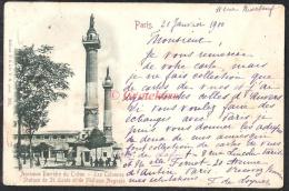 PARIS Ancienne Barrière Du Trône – Les Colonnes 1900 - Arrondissement: 12
