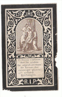 B HERMANS Hasselt 1843 Priester Thielt Luik Overl. Naar Jerusalem Spoorwegramp Tussen Napels & Brindisi 1888 Met Claes - Devotion Images