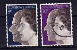 Great Britain - 1972 - Royal Silver Wedding - Used - 1952-.... (Elizabeth II)