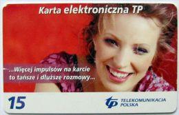 Poland (chip) - 15 U - 2003 - PL-D 128 - N3 P 01/04/06 - Poland