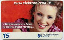 Poland (chip) - 15 U - 2003 - PL-D 128g - Si P 01/05/06 - Poland