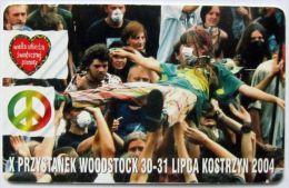 Poland (chip) - 15 U - PL-D 149a - Si E 01/09/06 - Przystanek Woodstock - Poland